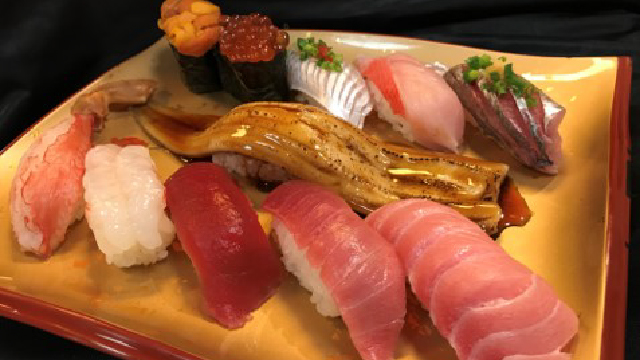 回転寿司 まぐろ一本